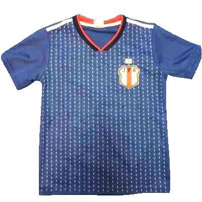 子供用 K042 19 日本代表 青 ゲームシャツ パンツ...