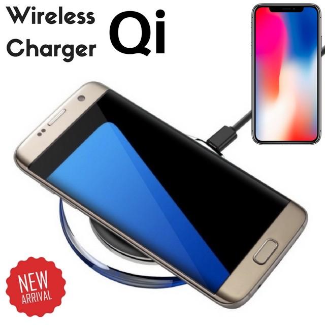 QI ワイヤレス 充電器 iphone8 / iphonex iphone ...