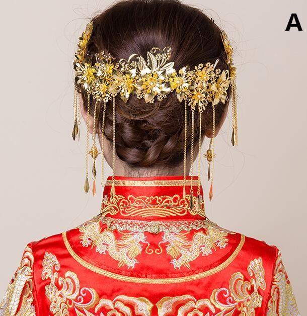 髪飾り/中国古代宮廷風/豪華セット/チャイナ風/唐...
