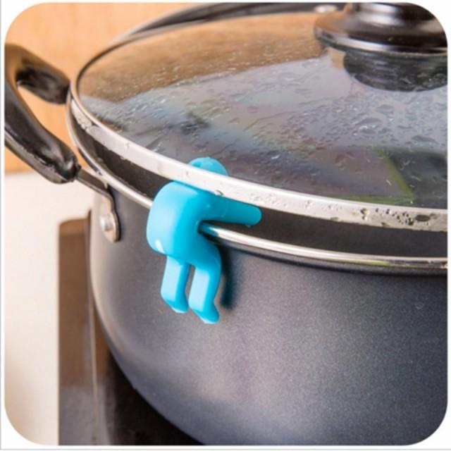 リッドリフター2個セット お鍋の沸騰を防ぐ シリ...