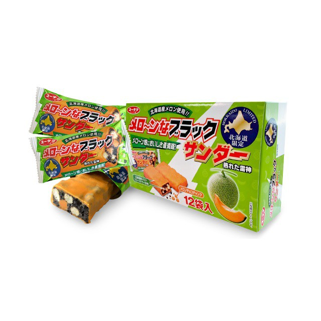 有楽製菓 メロ〜ンなブラックサンダー(メローン...