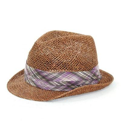 「中折れ帽子 天然中折れハット(全2色) メンズ ...