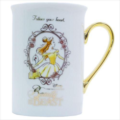 68833881c7d18 美女と野獣 ゴールドプレミアムマグ(ディズニー)マグカップ おしゃれ コップ マグ 食器(