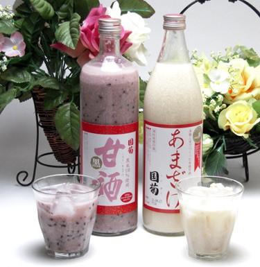 篠崎 国菊 ノンアルコール甘酒(あまざけ)2本...