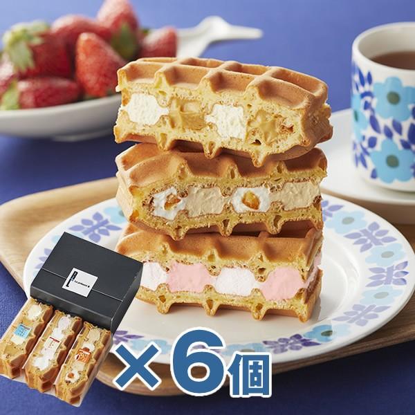 おかえしワッフル3個入り(6箱セット) /ギフト ...