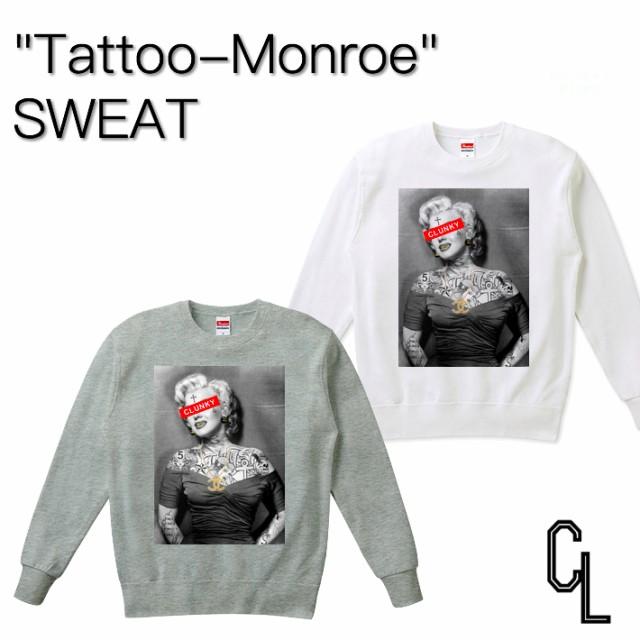 """大人気""""Tattoo-Monroe""""メンズ レディース デザイ..."""
