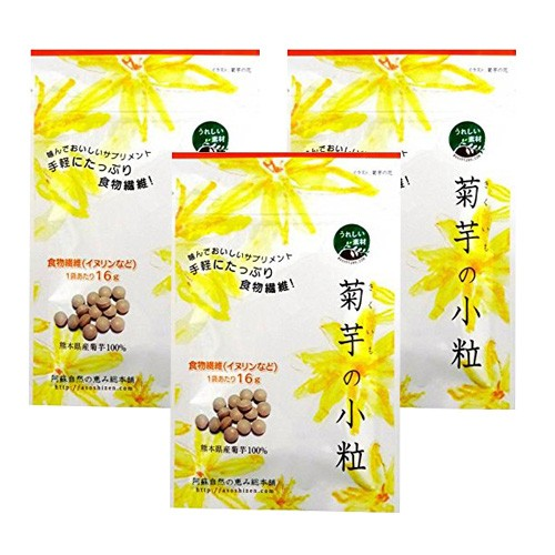 阿蘇自然の恵み総本舗 菊芋の小粒 100錠入り×3袋...