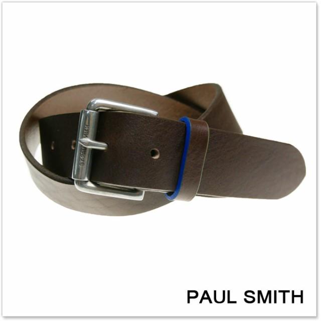PAUL SMITH ポールスミス ユニセックスレザーベル...