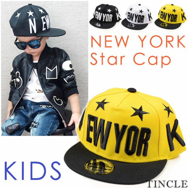 KIDS NEW YORKスターキャップ ベースボール 帽子 ...