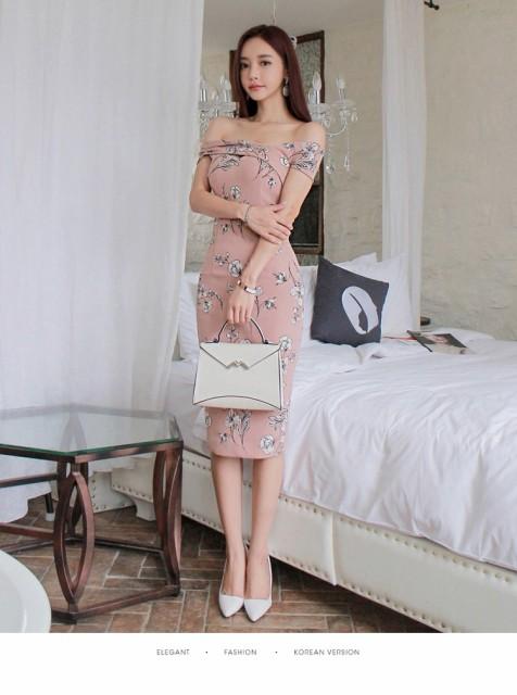 ファッション ミディアムドレス セクシーワンピー...