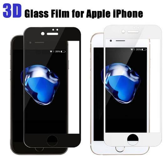 iPhone8 iPhone7 全面 強化ガラス液晶保護フィル...