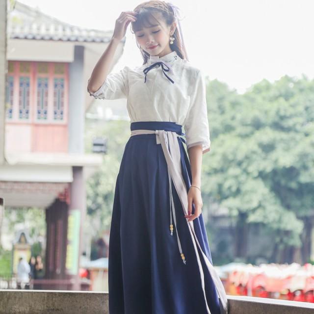 チャイナ服類似品 ウエスト ドレス スカート