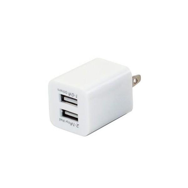 送料無料[USB 電源アダプタ 2ポート] iphone4/5/6...