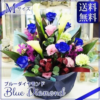ブルーダイヤモンド M 神秘的な青いバラ(ブルー...