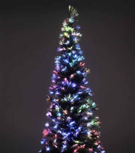 クリスマスツリー 高輝度LEDファイバークリスマ...
