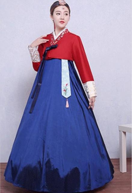 5色/2点セット 韓国ドレス 韓服 宮廷風 チマチョ...