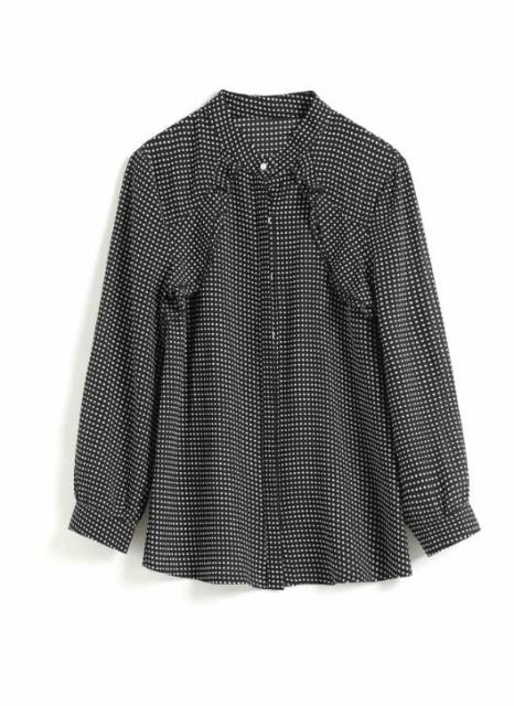 【新品】春レディース上着 シャツ ブラウス 花...