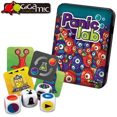 ギガミック パニックラボ カードゲーム 脳トレ