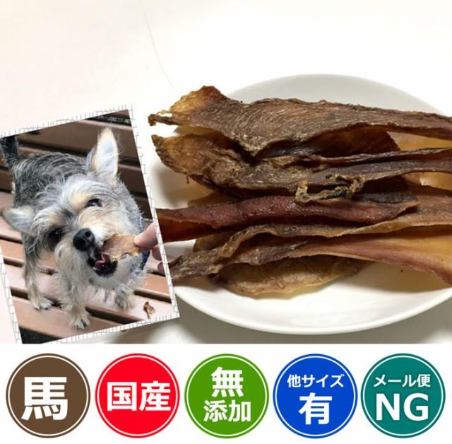 犬 おやつ【無添加】馬タン皮 150g/イリオスマイ...