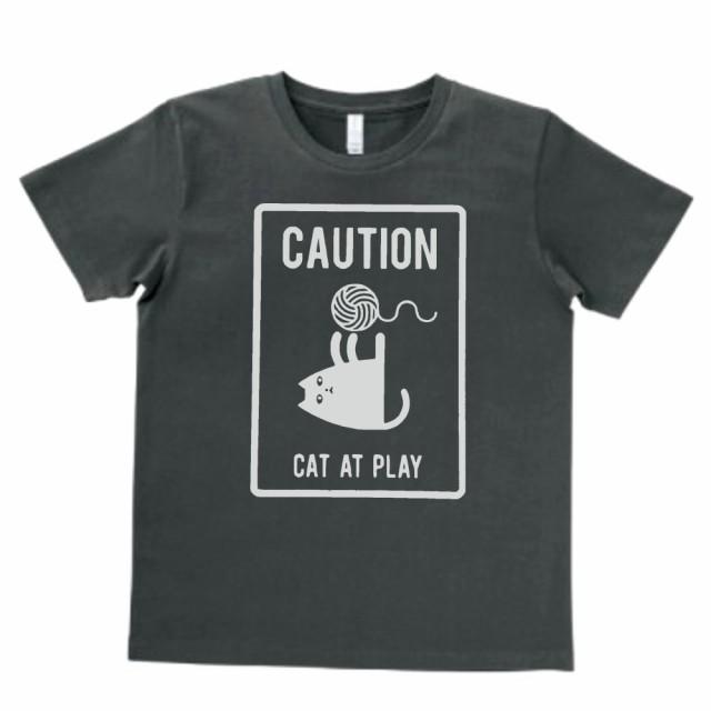 デザイン Tシャツ ネコ 猫 スモーク MLサイズ...