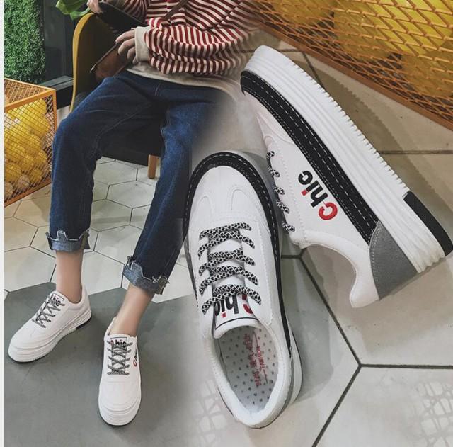 レディース靴レディーススニーカー3色ローカット ...