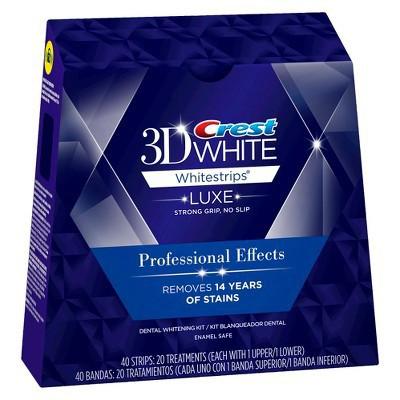 【レビューで送料無料】3D クレスト Crest White Strips 歯 ホワイトニング ストリップ 10日分 20枚 即納