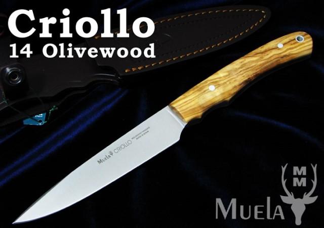 Muela/ムエラ CRIOLLO-14.OL クリオリオ 140mm オ...
