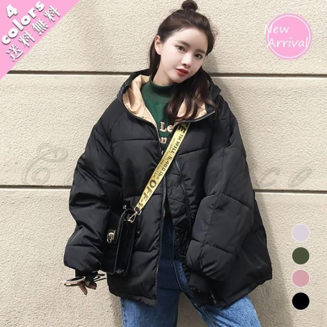 冬用レディースコート/ダウン風ジャケット/中綿コ...