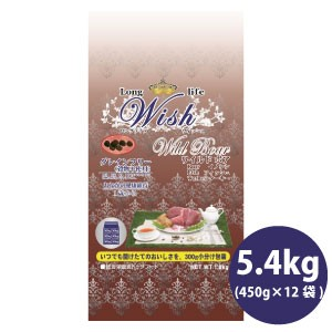 Wish ウィッシュ ワイルドボア(5.4kg/450g×12袋...