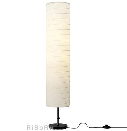 IKEA イケア HOLMO フロアランプ ランプ 照...