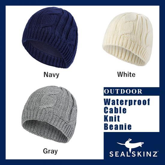 SEALSKINZ シールスキンズ 防水ニット製ビーニー ...