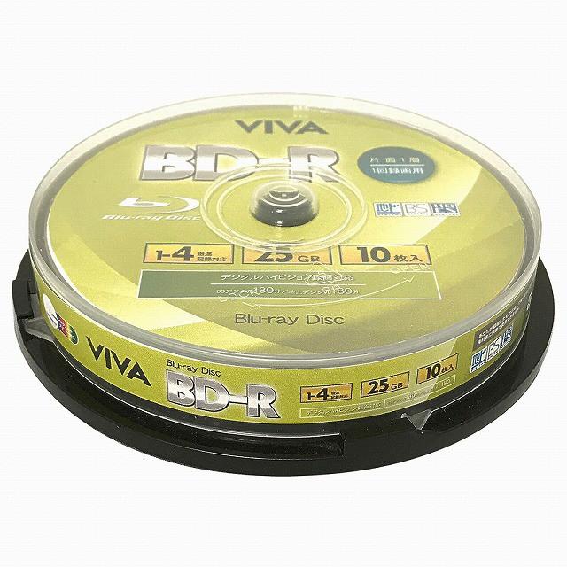 VIVA 記録メディア BD-R データ&デジタルハイビ...