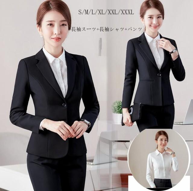 新品 格安スーツ+パンツ+白長袖シャツ3点セット ...