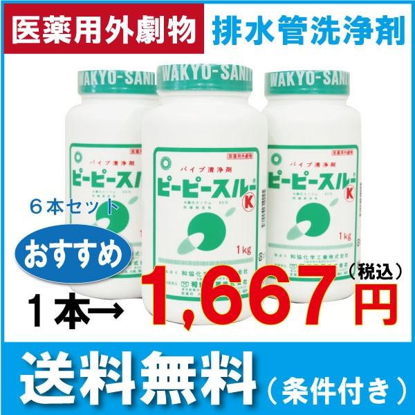 和協産業 業務用配管洗浄剤 ピーピースルーK(...
