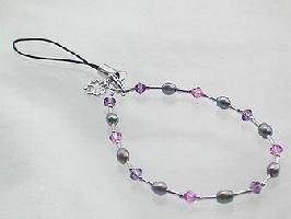 2WAY-淡水真珠デザインブレスレット・ストラップ...