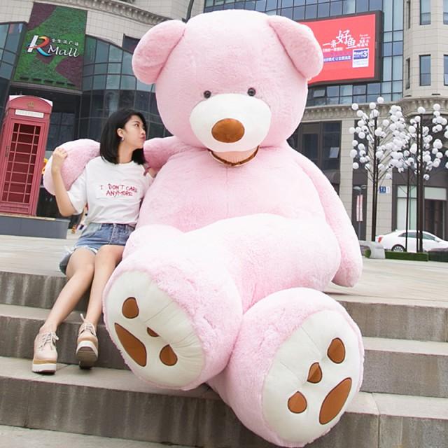 新作 ぬいぐるみ 特大 くま テディベア アメリカCostCo 巨大 くま ぬいぐるみ 熊 縫い包み160cm