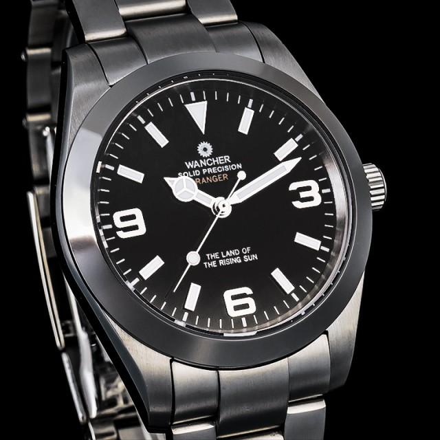 冒険者のための腕時計「WANCHER RANGER」ブラック...