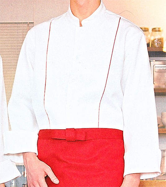 FJ078U コックシャツ 全3色 (厨房 調理 サ...