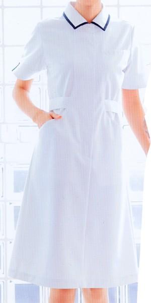YW117-1 ワンピース ホワイト (看護師 ドク...