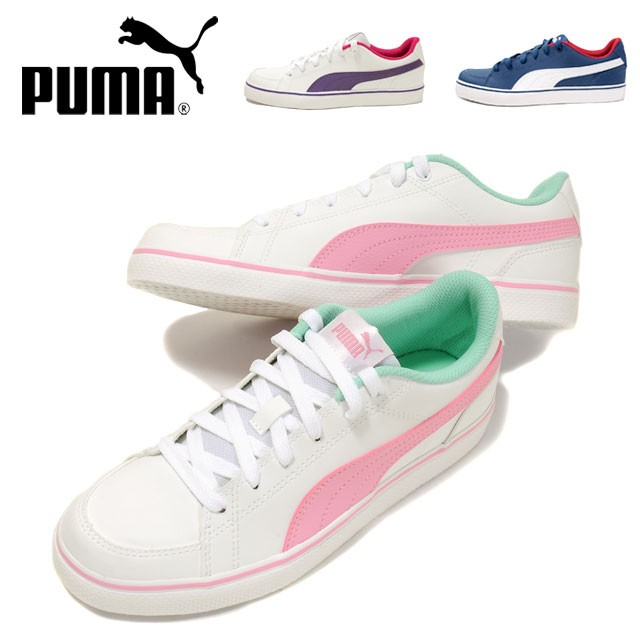 【送料無料】PUMA COURT POINT VULC V2 BG ローカ...