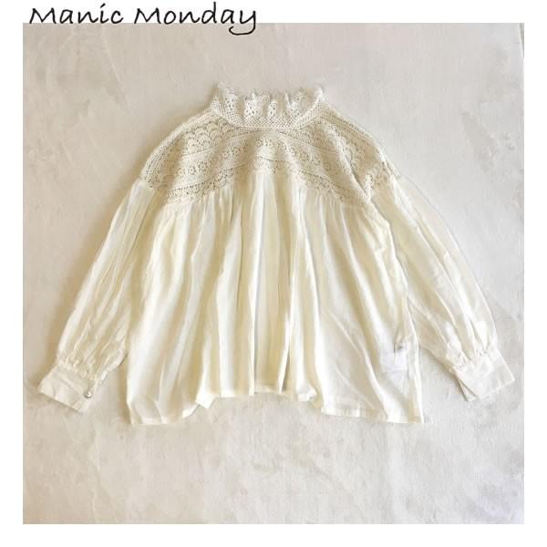 Manic Monday Lace Blouse レースブラウス BAD ST...
