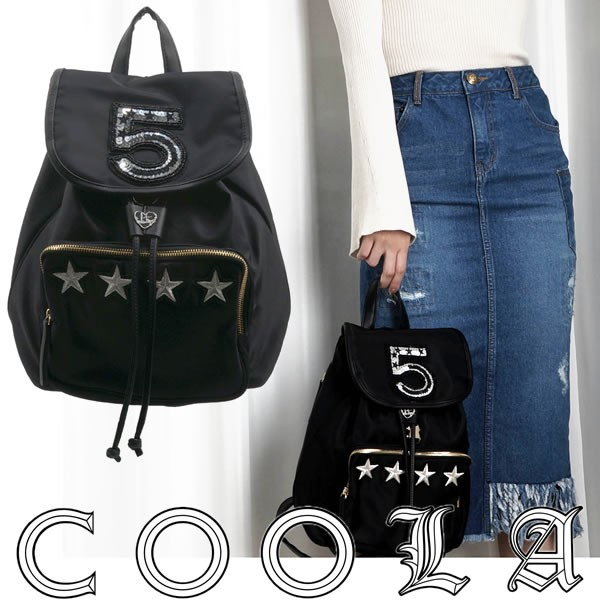 COOLA クーラ No.5×STAR mini BACK PACK レディ...