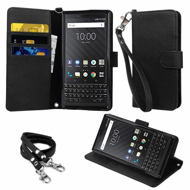 【ストラップ2種付】wisers BlackBerry KEY2 4.5 ...