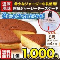 ジャージー牛乳使用 阿蘇ジャージーチーズケーキ1...