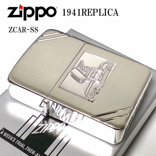 ZIPPO ジッポー 1941復刻 ジッポカー シルバーサ...