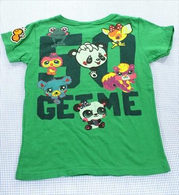 グラグラ GRAND GROUND Tシャツ 半袖 120cm 緑系 ...