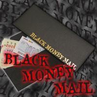 メール便OK!!【Black Money Mail】数万人に1人にしか チャンスは訪れません!!