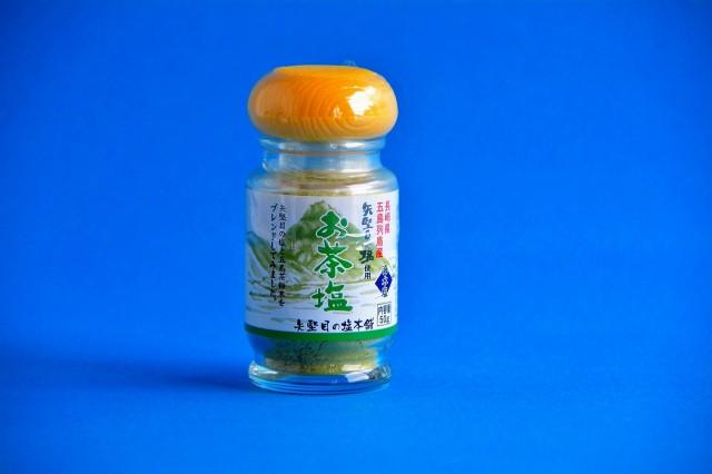 矢堅目の塩本舗 お茶塩(50g)