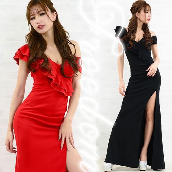 セール ドレス ロング ロングドレス セクシーロン...