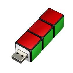 GREEN HOUSE グリーンハウスキューブ形【USBフラ...